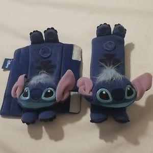 Disney Lilo and Stitch Seatbelt Cover Pair